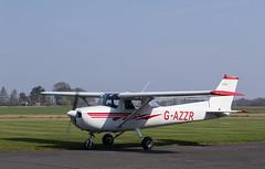 G-AZZR Cessna 150, Scone (wwshack) Tags: ce150 cessna cessna150 egpt psl perth perthkinross perthairport perthshire scone sconeairport scotland gazzr