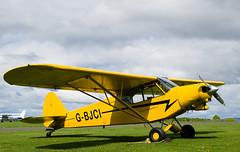 G-BJCI Super Cub, Scone (wwshack) Tags: egpt pa18 psl perth perthkinross perthairport perthshire piper scone sconeairport scotland supercub gbjci