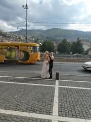 Komt (Merodema) Tags: twee two 2 together jurk bruid wit samen