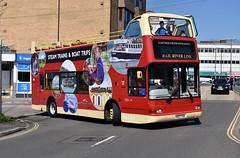 2019-04-11 Y827 TGH Volvo B7TL-Plaxton 12 of Rail River Link,  Paignton (John Carter 1962) Tags: bus buses opentop