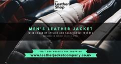 Stylish Men's Leather Jacket (leathershop) Tags: menjackets leatherjacketsforwomen made measure leather jackets men'sleatherblazers