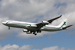 9H-BIG A340-312 (Ian Tate) Tags: durhamteesvalleyairport mme egnv 9hbig airbusa340 airxcharter airbusa340312