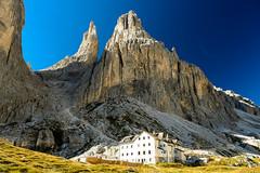 Campitello-343 (NiBe60) Tags: berg alpen italien trentino südtirol dolomiten fassatal valle del vajolet vajolettürme rifugio preuss rosengarten ciampedie mountain alps italy south tyrol dolomites towers catinaccio