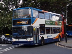 Stagecoach TransBus Trident (TransBus ALX400) 18127 KN04 XJB (Alex S. Transport Photography) Tags: bus outdoor road vehicle stagecoach stagecoachmidlandred stagecoachmidlands alx400 alexanderalx400 dennistrident trident transbustrident transbusalx400 route1 18127 kn04xjb