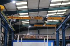 Granada Cranes in a Paper Processing Plant