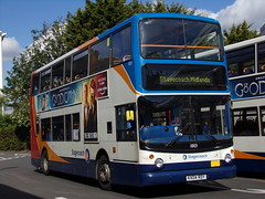Stagecoach TransBus Trident (TransBus ALX400) 18101 KX04 RDY (Alex S. Transport Photography) Tags: bus outdoor road vehicle stagecoach stagecoachmidlandred stagecoachmidlands alx400 alexanderalx400 dennistrident trident transbustrident transbusalx400 notinservice 18101 kx04rdy
