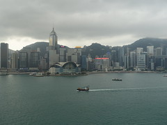 201905098 Hong Kong Admiralty and Wan Chai (taigatrommelchen) Tags: 20190522 china hongkong admiralty wanchai sight icon weather ocean city skyline building mountains harbour