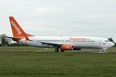 C-FYJD | Sunwing Airlines | Boeing B737-8Q8(WL) | CN 41807 | Built 2015 | DUB/EIDW 17/05/2019 (Mick Planespotter) Tags: aircraft airport 2019 dublinairport collinstown nik sharpenerpro3 b737 cfyjd sunwing airlines boeing b7378q8wl 41807 2015 dub eidw 17052019