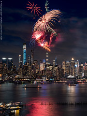 Fireworks (20190606-DSC05329) (Michael.Lee.Pics.NYC) Tags: newyork fireworks night longexposure weehawken hamiltonpark architecture cityscape hudsonriver timessquare centralpark construction sony a7rm2 fe24105mmf4g