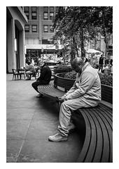 FILM - On a curve (fishyfish_arcade) Tags: 35mm analogphotography bw blackwhite blackandwhite canonsureshotz135 filmphotography filmisnotdead hp5 istillshootfilm monochrome newyork analogcamera compact film ilford mono streetphotography bench
