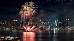 Fireworks (20190606-DSC05339) (Michael.Lee.Pics.NYC) Tags: newyork fireworks night longexposure weehawken hamiltonpark architecture cityscape hudsonriver timessquare centralpark construction sony a7rm2 fe24105mmf4g