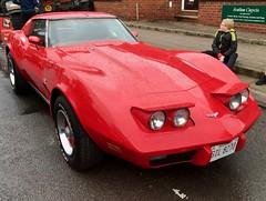 1973 Chevrolet Corvette Stingray L82 (Dave Hamster) Tags: southamretrorevival southam warwickshire carshow car retrorevival chevroletcorvettestingray chevroletcorvette stingray chevrolet corvettestingray corvette 1973 l82 gil8270