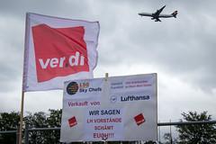 LSG Sky Chefs - Protest gegen den Verkauf