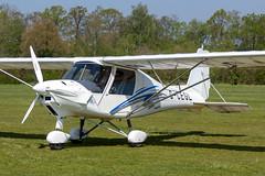 G-CEGL Comco Ikarus C42 FB100 - Old Warden (benallsup) Tags: gcegl comco ikarus c42 fb100 aviation aircraft plane flying fly aeroplane shuttleworth oldwarden biggleswade