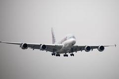 Qatar Airways A388, A7-API, LHR (LLBG Spotter) Tags: lhr a7api a380 egll aircraft qatarairways airline