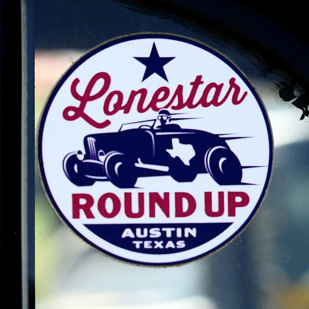 Lsru sticker rustman tags atx austin car carclub cars chrome color colors coupe