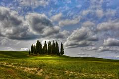 IL CIELO (giannipiras555) Tags: cielo nuvole collina ombre alberi cipressi toscana colori natura paesaggio panorama landscape nikon