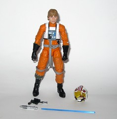 luke skywalker x-wing pilot star wars the black series archive series basic action figures 2019 hasbro a (tjparkside) Tags: luke skywalker xwing pilot x wing star wars black series archive blue 2018 2019 basic action figure figures 6 six inch rebel rebels episode 4 iv four new hope anh blaster blasters pistols pistol rifle rifles 10 2015 death trench run removable helmet lightsaber hilt blade ignited hasbro
