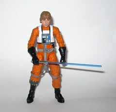 luke skywalker x-wing pilot star wars the black series archive series basic action figures 2019 hasbro l (tjparkside) Tags: luke skywalker xwing pilot x wing star wars black series archive blue 2018 2019 basic action figure figures 6 six inch rebel rebels episode 4 iv four new hope anh blaster blasters pistols pistol rifle rifles 10 2015 death trench run removable helmet lightsaber hilt blade ignited hasbro