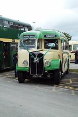 DSCF7071 (Steve Guess) Tags: globe arena morecambe afc lancashire england gb uk bus rally jtb749 aec regal cumbria classic coaches wedding