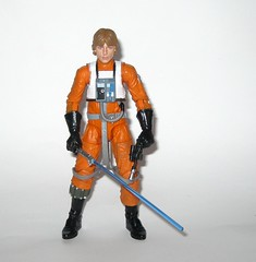 luke skywalker x-wing pilot star wars the black series archive series basic action figures 2019 hasbro m (tjparkside) Tags: luke skywalker xwing pilot x wing star wars black series archive blue 2018 2019 basic action figure figures 6 six inch rebel rebels episode 4 iv four new hope anh blaster blasters pistols pistol rifle rifles 10 2015 death trench run removable helmet lightsaber hilt blade ignited hasbro
