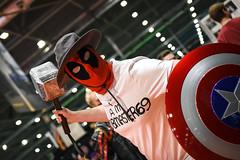MCM London Film & Comic Con, May 2019 (Sean Sweeney, UK) Tags: mcm london film comiccon comic con lfcc excel 2018 nikon d750 dslr uk united kingdom mcmldn19 cosplay costume candid candids red white blue