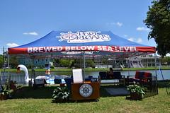 HFF Port Orleans Brewing Co. (Omunene) Tags: fence fencefriday portorleansbrewingcompany brewedbelowsealevel bayouboogaloo2019weekend bayoustjohn neworleans