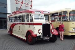DSCF7068 (Steve Guess) Tags: globe arena morecambe afc lancashire england gb uk bus rally ribble leyland cheetah coach