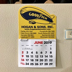 JUNE 2019 (_BuBBy_) Tags: june 2019 calendar welcome youre yourewelcome hogan sons goodyear tire inc incorporated tires auto automotive automobile service servicing marketing advertising