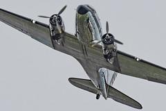 Douglas C-47 (Barnacle Bill Simmons) Tags: douglas c47 dday flypast beachyhead reflecting bodywork eastbourne eastsussex uk