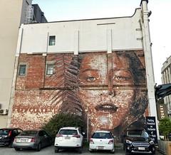 Misspent Youth by Rone (wiredforlego) Tags: graffiti mural streetart urbanart aerosolart publicart christchurch newzealand nz rone