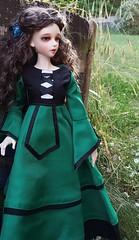 (claudine6677) Tags: bjd msd ball jointed doll asian dolls souldoll soulkid annamari green dress