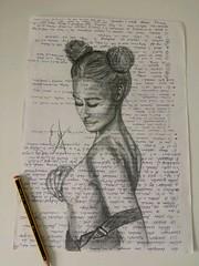 Poses. Dibujos rápidos en papeles usados. #art  #artlovers #artdaily #artist #sensualidad #artoftheday #foto #drawing #flickr#woman #painting #draw #pencildrawing #crayon #artwork #sketch  #instaart  #fotografia #photography  #artphoto #beautiful (egc2607) Tags: sketch eyes artwork tattoo art guapa artdaily bw artphoto artlovers artoftheday fitness photography bellezza pencildrawing artist painting sensualidad instaart drawing hairstyle fotografia beautifulgirl woman sensuality crayon artofinstagram draw