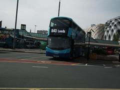 3636, Leeds, 23/04/19 (aecregent) Tags: leeds 230419 transdev coastliner volvo b5tl wright gemini3 3636 bt66mvv 840