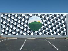 tessellation (Jef Poskanzer) Tags: tessellation mural geotagged geo:lat=3797377 geo:lon=12253987 sanrafael t
