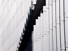 Passing By (YIP2) Tags: window windows facade abstract minimal minimalism simple less line linea detail pattern lines geometry design architecture building repetition diagonal