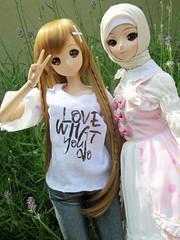 Chie & Aisha (els82) Tags: smartdoll smartdollmirai kurenai