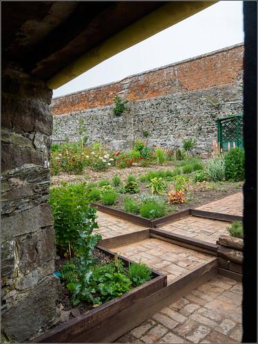 Bradgate House walled garden