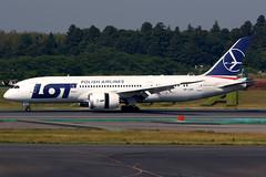 LOT Polish Airlines | Boeing 787-8 | SP-LRC | Tokyo Narita (Dennis HKG) Tags: lot lo polishairlines poland aircraft airplane airport plane planespotting staralliance canon 7d tokyo narita rjaa nrt boeing 787 7878 boeing787 boeing7878 dreamliner splrc 70200