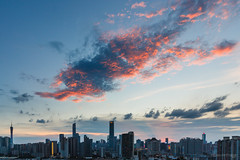 Sunset June.07.2019 (kevinho86) Tags: eos450d canton ef1635f4lusm twilight canon colour city cloudy skyline skyscraper sky sunset wideangle pearlrivernewtown 天空 雲 cityscapes urban 空 空·雲の寫真 城市 landscape scenery scape guangzhou downtown magichour ontheroof 珠江新城 内透 建築 art 天際線 lightshadow architecture 都會