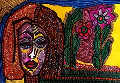 Israeli modern colorful portrait (female artwork) Tags: woman women artist portrait wood relief sculpture modern israeli israel contemporary acrylic canvas pencil markers female artistic exhibit exhibition collection collectors painter painters paint painting drawing drawings draw naivi visual view image images paitings gallery galleries museum