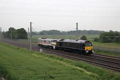 67006 91119 0Z91 Winwick (cmc_1987) Tags: 67006 91119 class67 class91 db dbcargo dbschenker royal intercity lner