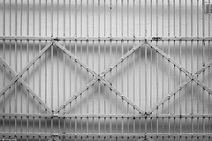 white to white (fhenkemeyer) Tags: fence white wall abstract oberhausen hff