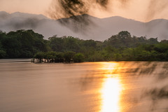 Reflection (Thanathip Moolvong) Tags: samngao tak thailand reflection long exposure river water mountain tree