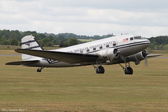 N877MG (Baz Aviation Photo's) Tags: n877mg douglas c47c pan american airlines system daks over normandy duxford