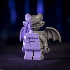 Gargoyle (DayBreak.Images) Tags: tabletop toy lego miniature gargoyle canondslr meike 85mmf28 macro ringlight manfrottolumimuse lightroom home
