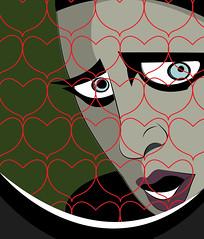 manson under the love (illustrationvintage) Tags: