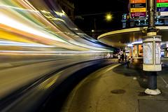 Zurich; Enter The Fast Train (drasphotography) Tags: night schweiz switzerland long exposure nightshot suisse zurich tram zürich paradeplatz strasenbahn zürich2019 city travel urban cityscape travelphotography reisefotografie d810 nikonphotography nikkor2470mmf28 drasphotography