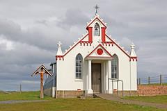 Italian Chapel, Orkney (Roger Wasley) Tags: italian chapel orkney scotland historic holy building exterior catholic scapaflow churchillbarriers island prisonersofwar