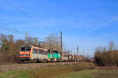 Perrigny-Sibelin (AziroxY) Tags: trains trainspotting train bb26000 bb26196 céréale photo photographie plm photosncf sncf fret france fretsncf